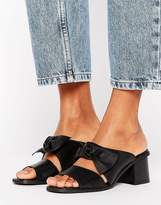 Asos Toulouse Leather Bow Mules