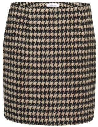 Anine Bing Marie skirt - Houndstooth