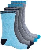 High Sierra Boot Socks - 4-Pack, Crew (For Men)