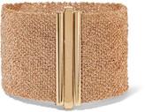 Carolina Bucci Woven 18-karat Gold Bracelet - Rose gold