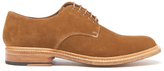 Grenson Finlay Suede Derby Shoes Snuff