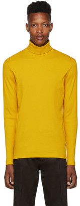BOSS Yellow Tenore Turtleneck