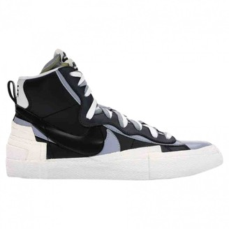 Sacai Nike X Nike X Blazer Mid Black Cloth Trainers