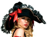 Leg Avenue Women's Swashbuckler Hat