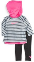 Nike Therma Dri-FIT Hoodie & Leggings Set (Baby Girls)