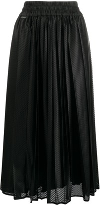 Moncler Mesh Midi Skirt