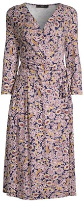 Max Mara Oxiria Wrap Dress