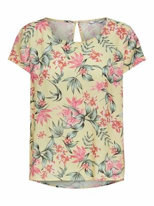 Only Women's Onlfirst One Life Ss AOP Top Noos WVN T-Shirt