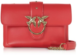 Pinko Red Love Soft Baby Simply Shoulder Bag