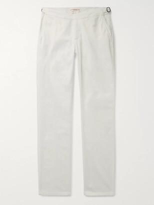 Orlebar Brown Campbell Cotton-Blend Poplin Trousers