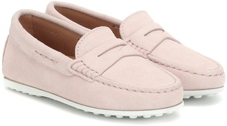 Tod's Junior Gommino suede loafers