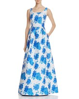 JS Collections Floral Gown