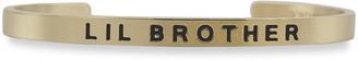 Sontakey Boy's Lil Brother Engraved Bracelet