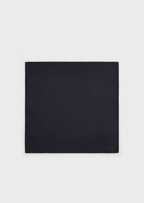 Emporio Armani Pure Silk, Micro-Jacquard Pocket Square