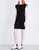 Claudie Pierlot Reelle crepe and satin dress