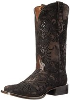 Stetson Women's Kael Square Metallic Underlay Cowgirl Boot
