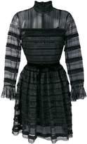 Philosophy di Lorenzo Serafini high neck lace dress