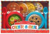 Melissa & Doug Create-A-Meal Fill 'Em Up Bowls