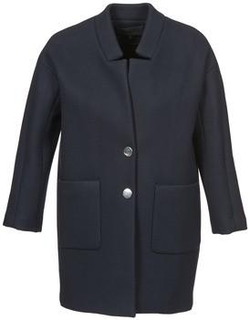 American Retro LAURA women's Coat in Blue