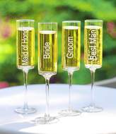 Cathy's Concepts Cathy s Concepts 8-oz. Wedding Party Champagne Flutes, Set of 4