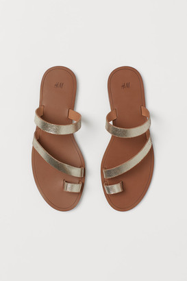 H&M Slides - Brown