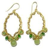 Ananda Handmade Brass Earrings
