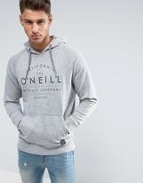 O'Neill Logo Hoodie In Grey