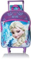 Disney Girls' Elsa 12 Rolling Backpack