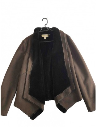 Michael Kors Brown Suede Coats