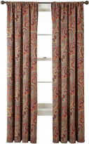 JCPenney Home ExpressionsTM Wynnewood Room-Darkening Rod-Pocket Crushed Curtain Panel