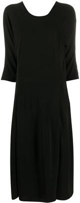 Sara Lanzi Open Back Midi Dress