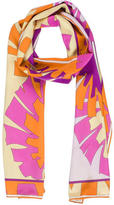 Emilio Pucci Abstract Print Silk Tie