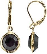 1928 Circle Drop Earrings