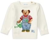 Ralph Lauren Infant Boys' Bear Sweater - Sizes 3-24 Months