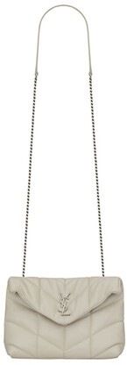 Saint Laurent Mini Loulou Matelasse Cross-Body Bag