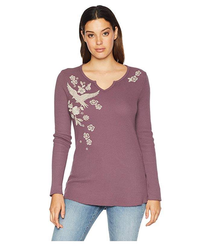 7b79a81e Long Sleeve Thermal Shirts For Women - ShopStyle