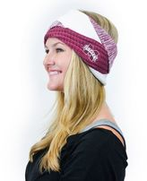 Women's ZooZatz Mississippi State Bulldogs Criss-Cross Headband