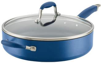 Anolon Advanced Home Hard-Anodized Nonstick 5-Qt. Saute Pan with Helper Handle