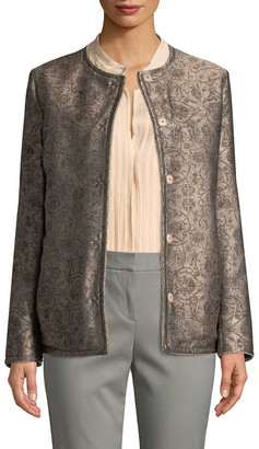 Max Mara Floral Print Jacket