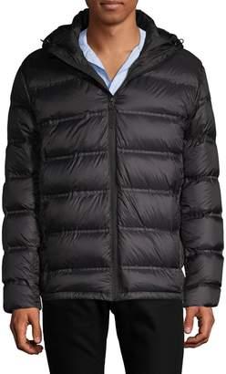 Saks Fifth Avenue Seamless Hooded Puffer Jacket