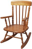 Gift Mark Child's Spindle Rocking Chair in Honey Finish