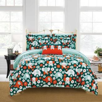 Chic Home Elephant Reprise Comforter Set