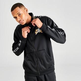 Nike Men's Jordan Mashup Jumpman Classics Tricot Warmup Jacket