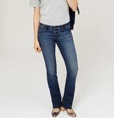 LOFT Modern Boot Cut Jeans in Classic Blue Wash