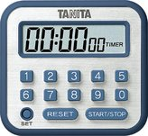 Blue timer TD-375-BL TANITA clock with long (japan import)