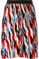Etoile Isabel Marant 'Linore' velvet skirt - women - Silk/Cotton/Polyester/Rayon - 40