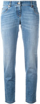 Brunello Cucinelli straight cropped jeans - women - Cotton/Spandex/Elastane - 44