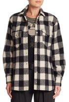 Ralph Lauren Buffalo Check Cotton & Wool Shirt