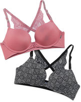 XOXO 2-pc. Underwire Strappy Back Push Up Bra