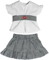 Arroz con Leche Estela Blouse-Skirt Set
